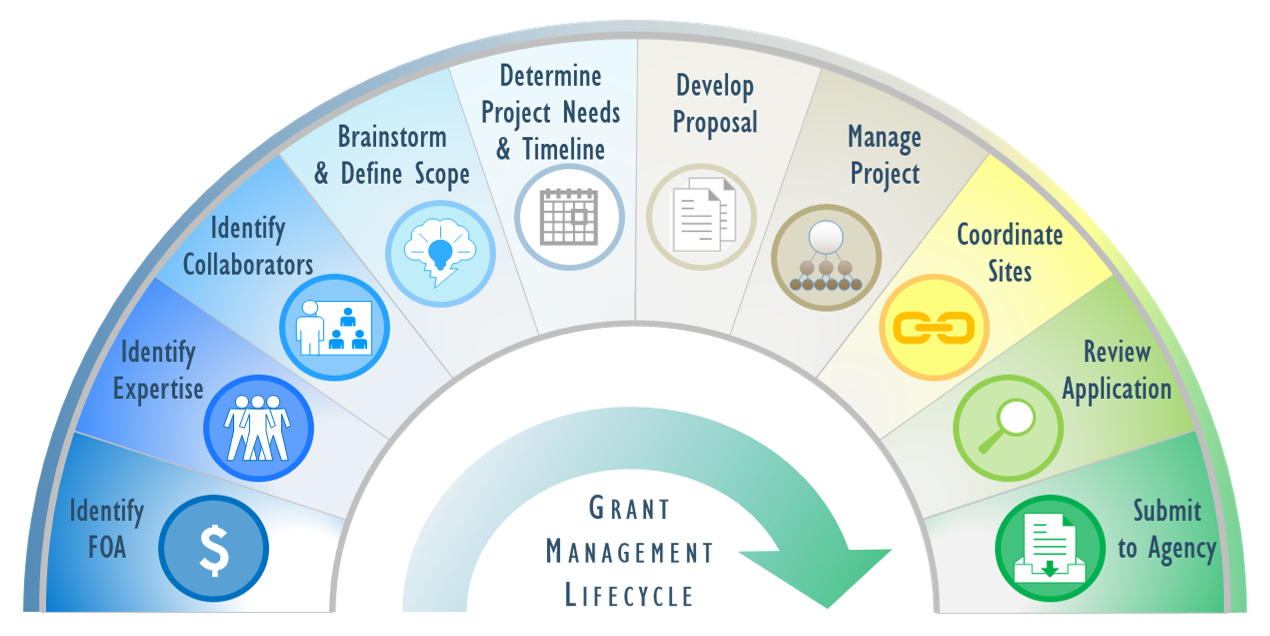 GSU grant process graphic